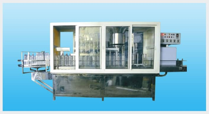 Blow Molding & Bottling Filling Machine