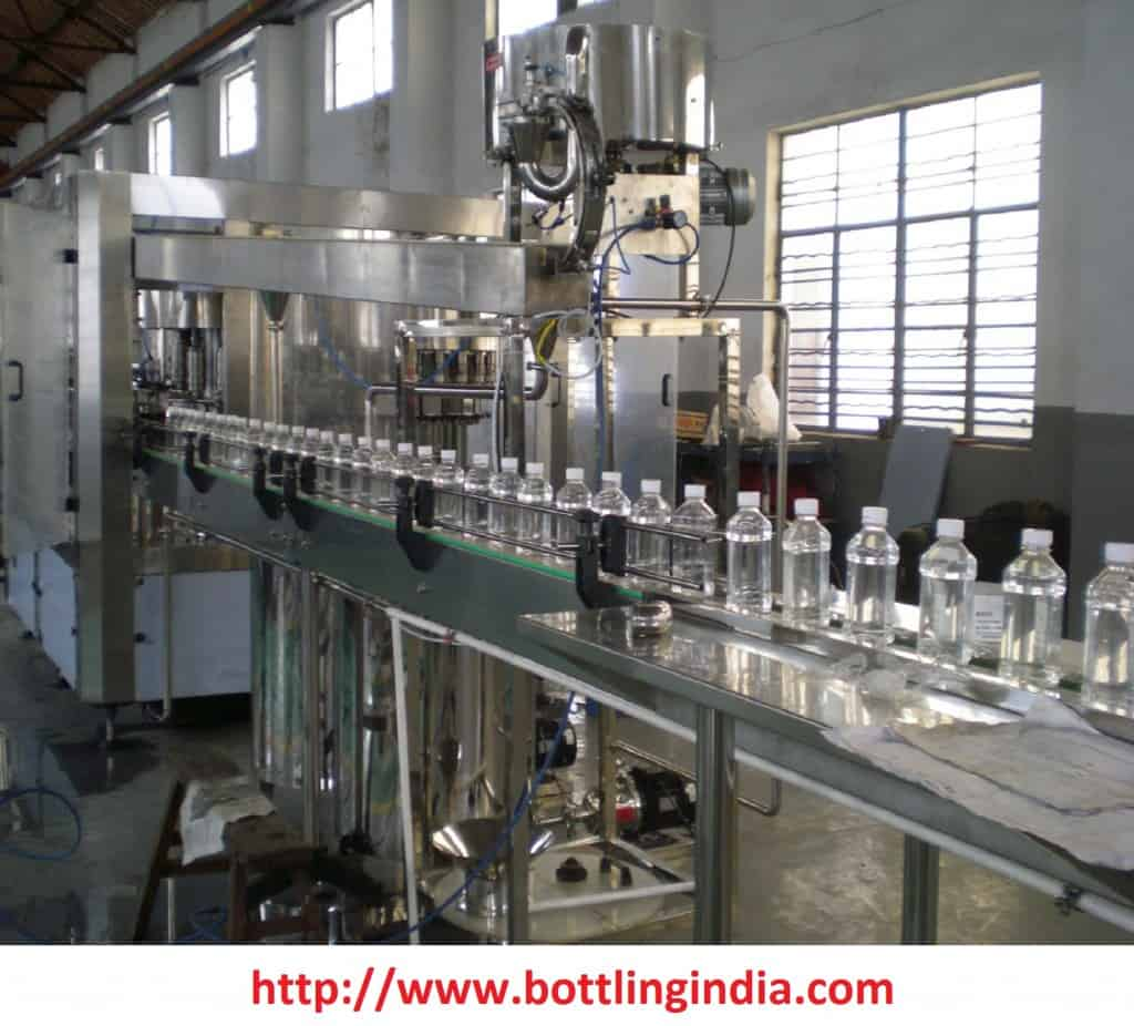 bottling water plant