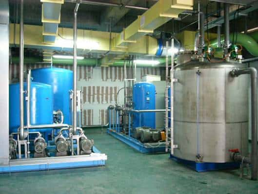 mineral water manufacturing bussiness plant
