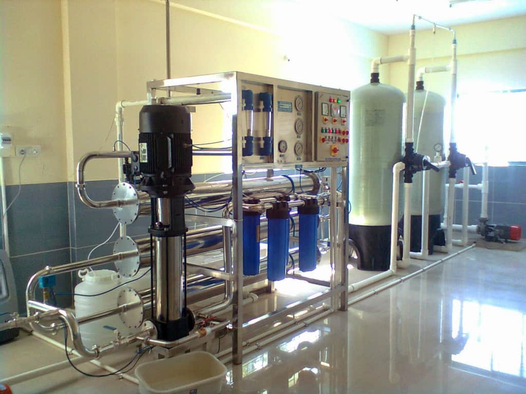 mineral water plant cost