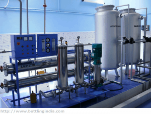 small scale mineral water plant