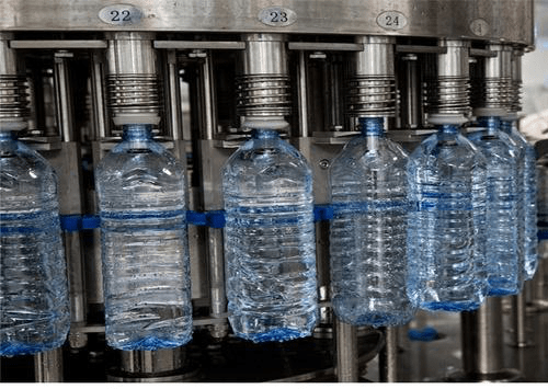 Mineral water packing