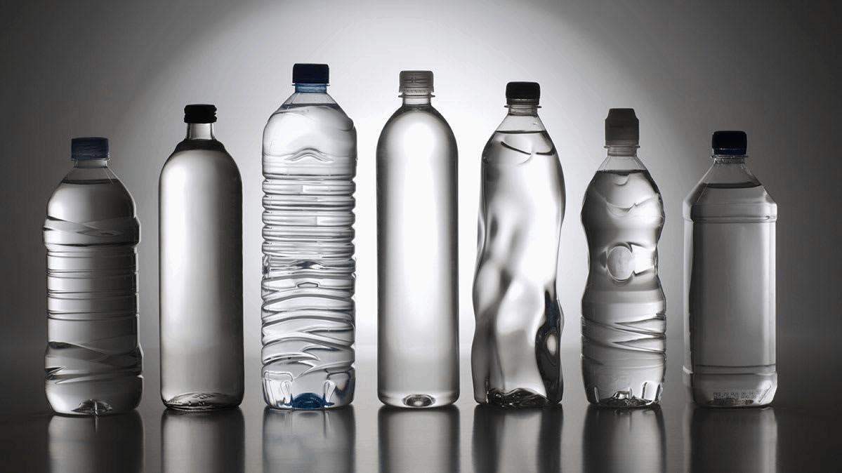 Mineral water bottlel